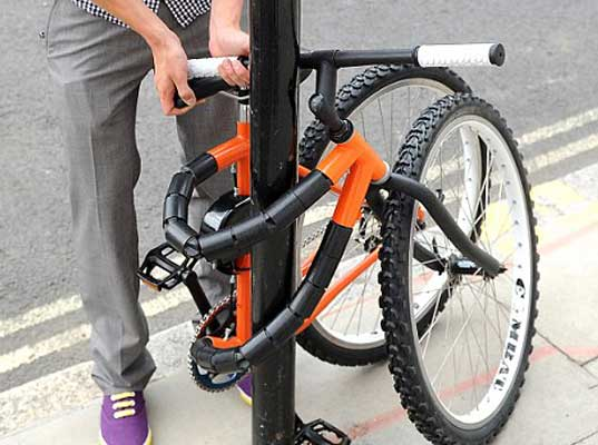 Bike-pictures.com to keep a bicycle secure