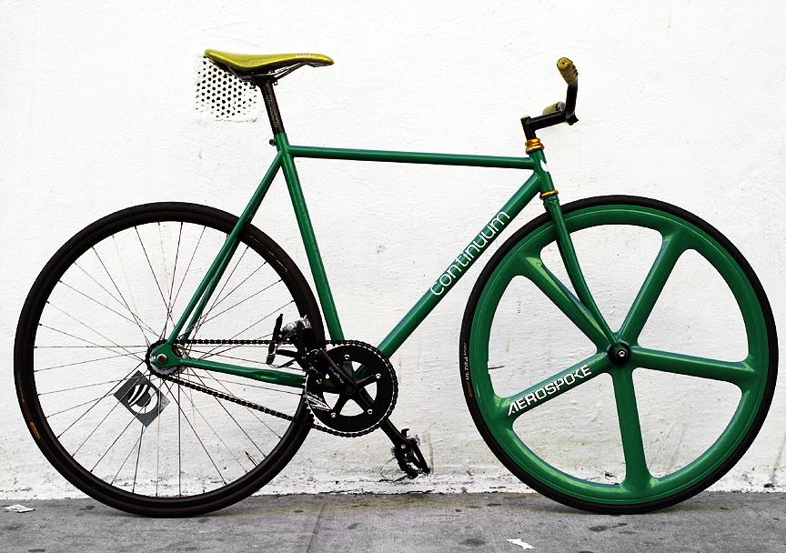 the green machine bike