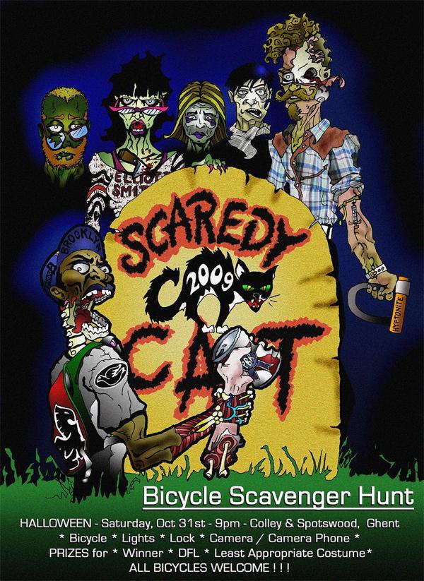 scaredy cat 2009