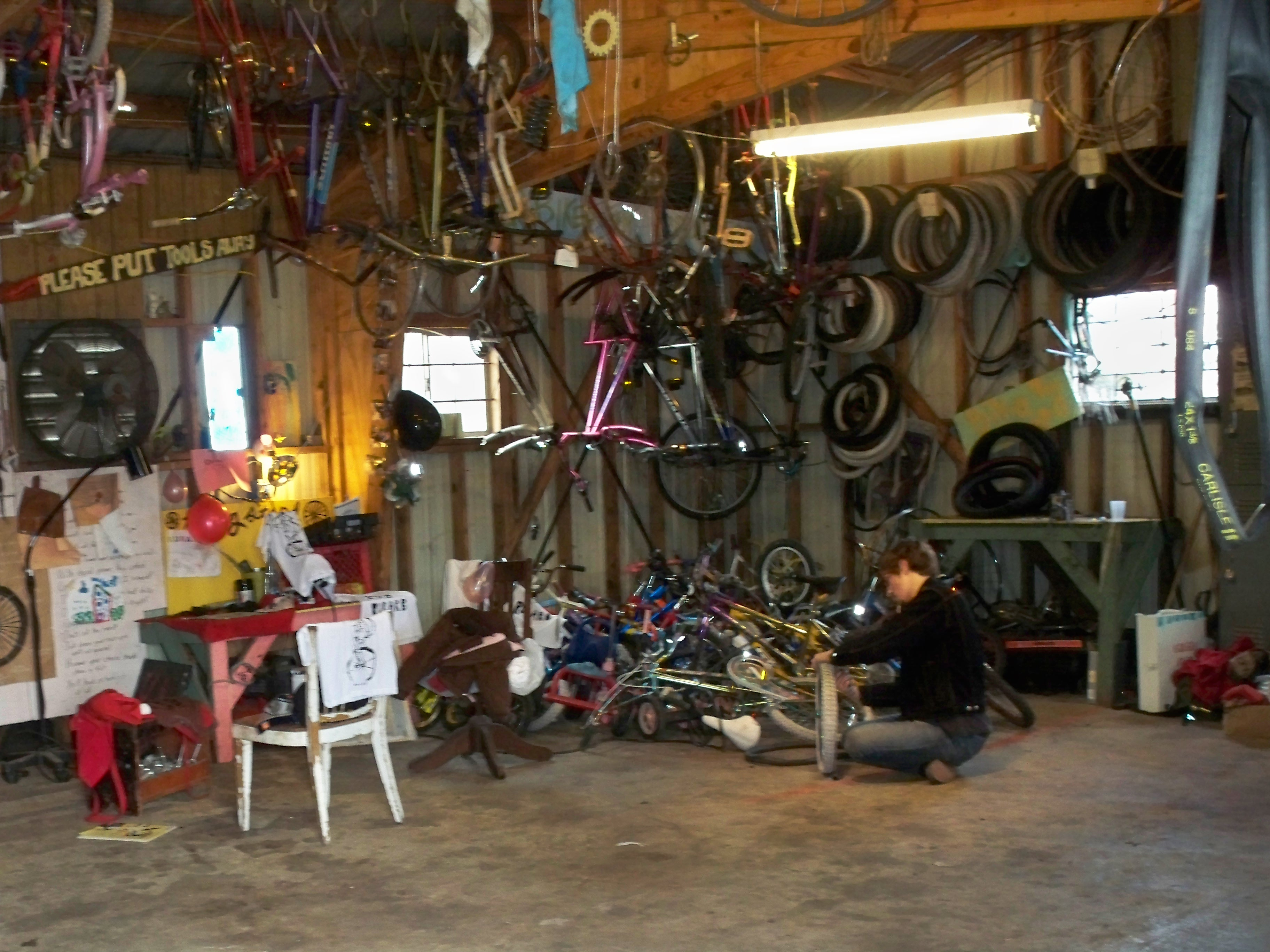 RUBARB bike workshop