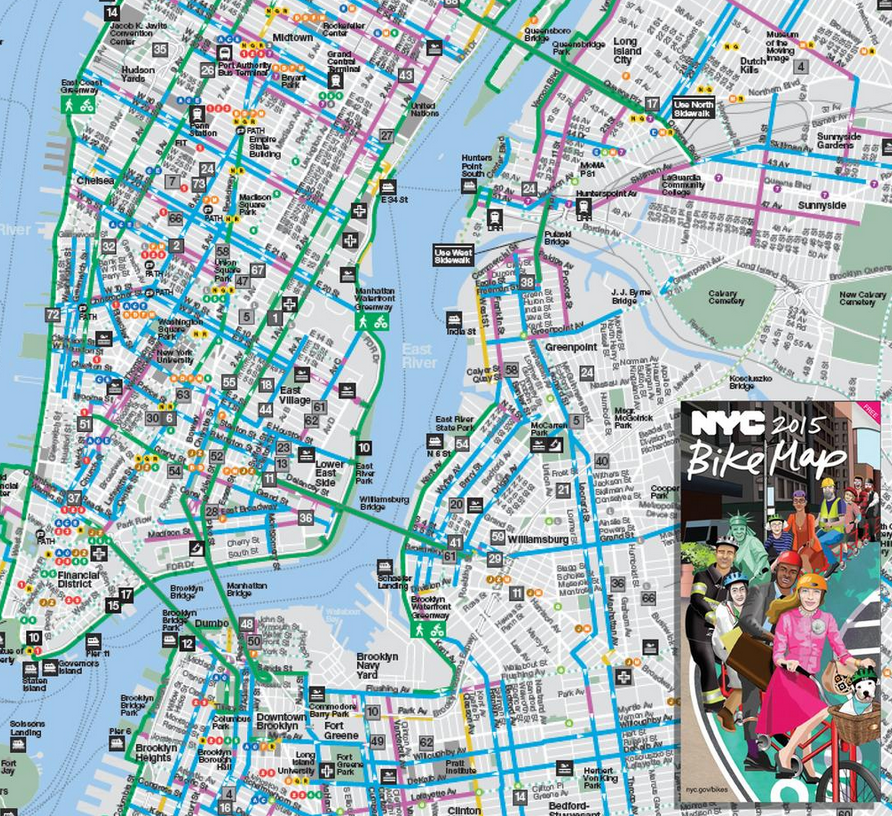 New Bike Maps Are Out Bike Blog NYC