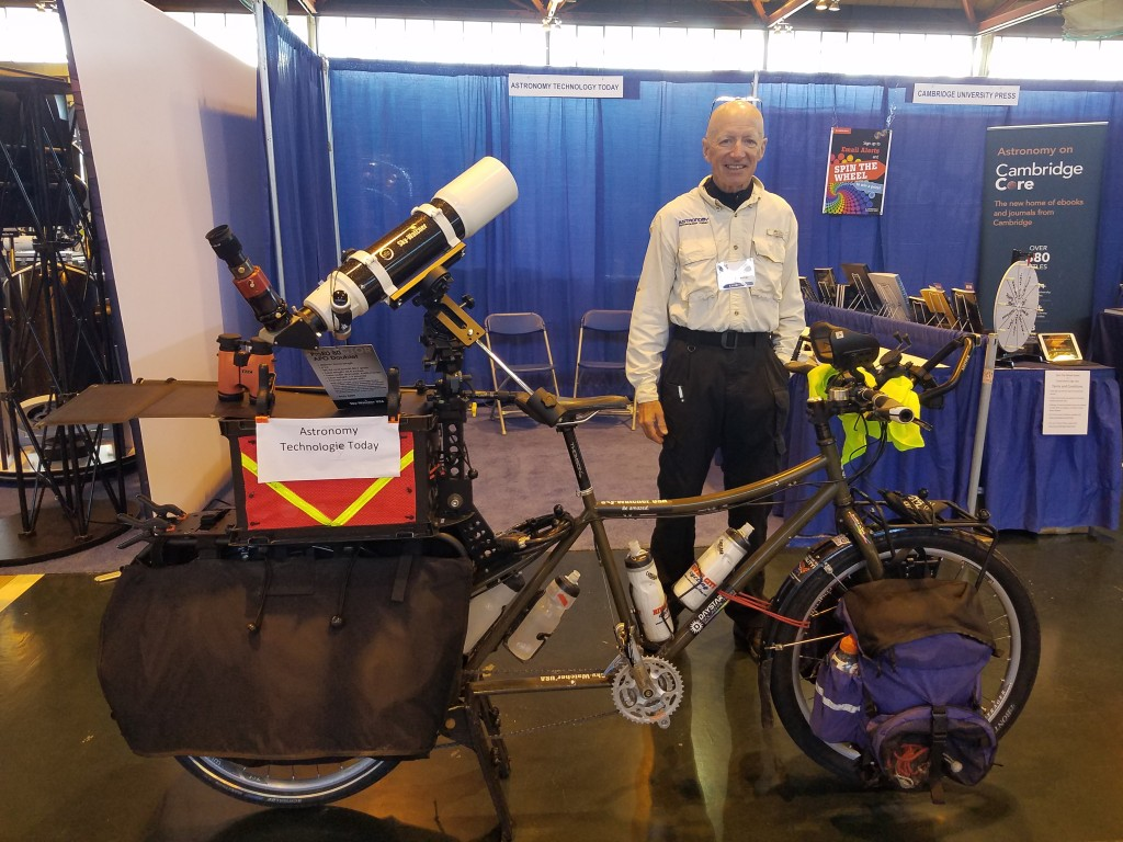 The Pedaling Astronomer